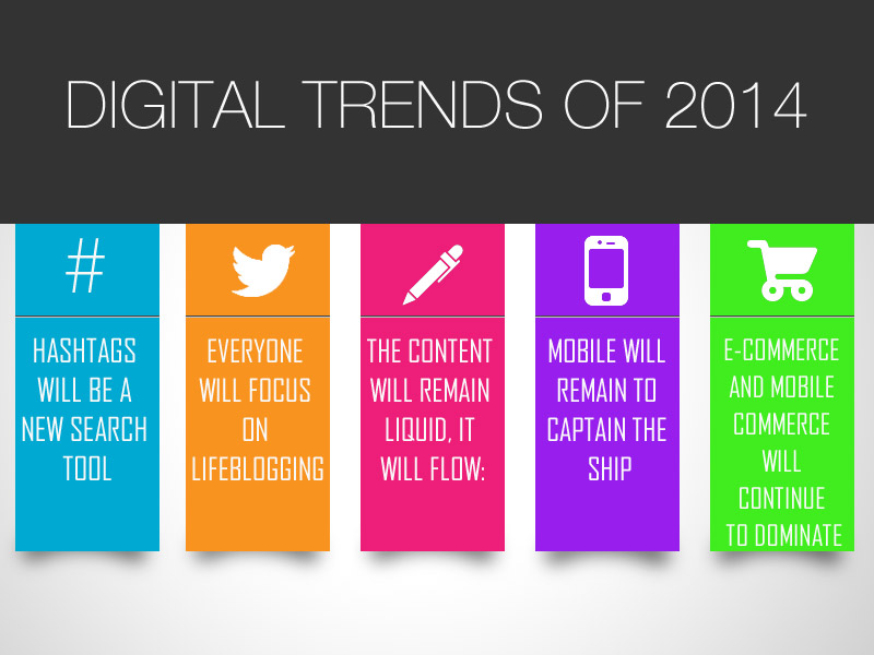 5 Digital Trends of 2014