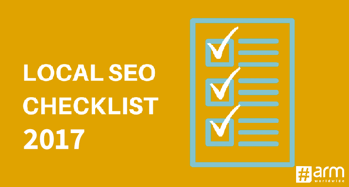 Local SEO Checklist 2017 to Boost Business Performance