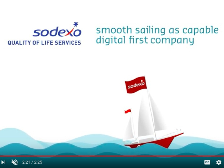 How Sodexo repositioned as a digital-first company using digital content & PR