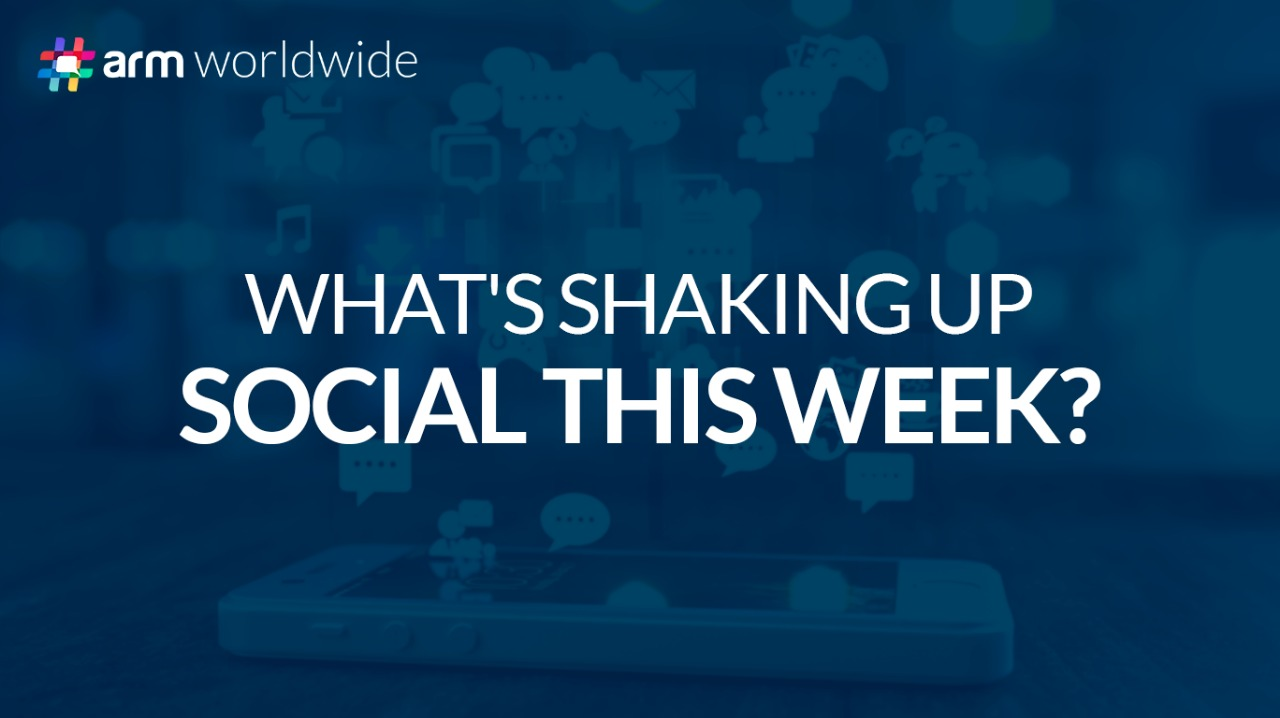 What's shaking up social this week?