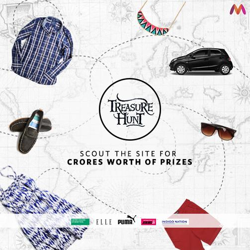Myntra Treasure Hunt
