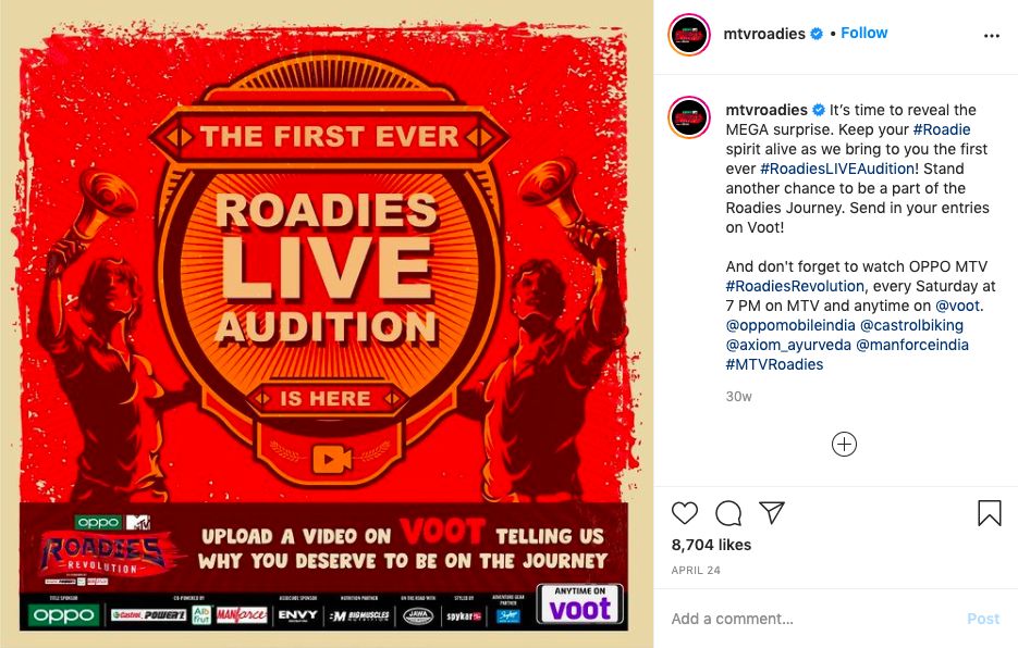 MTV Roadies Live Audition