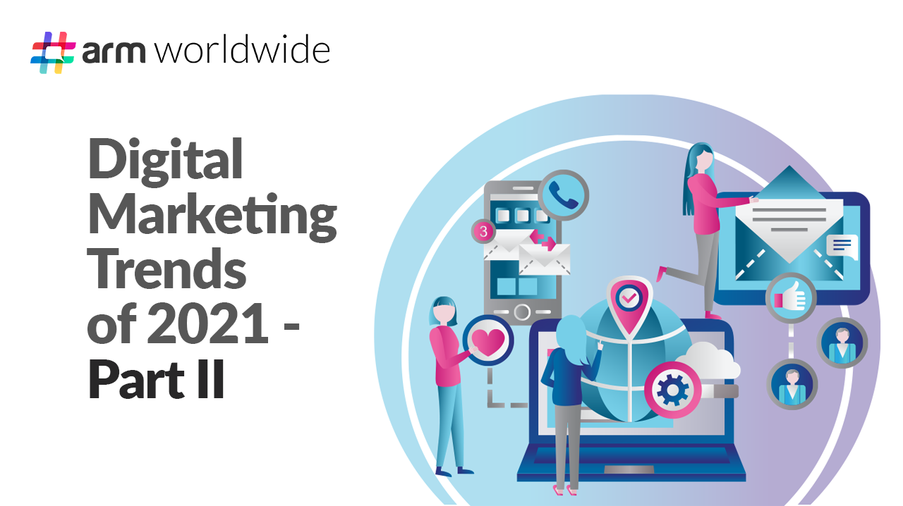 Digital Marketing Trends of 2021 – Part II
