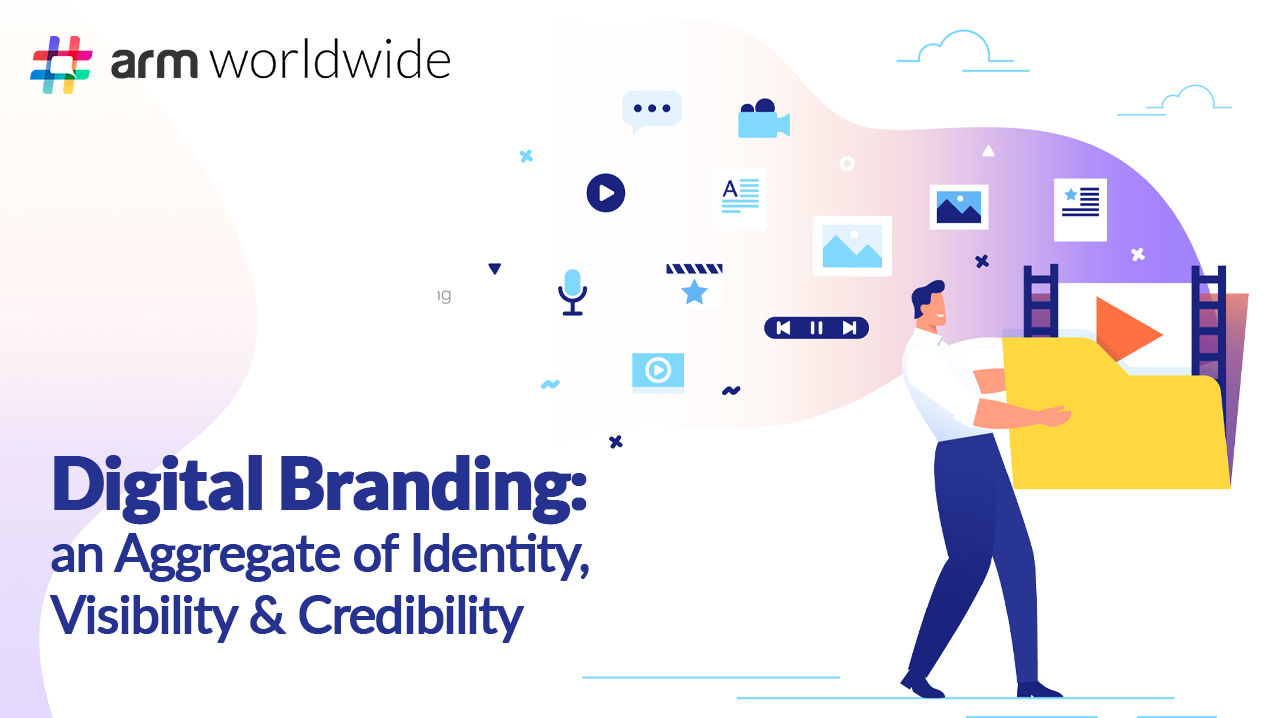 Digital Branding: an Aggregate of Identity, Visibility & Credibility