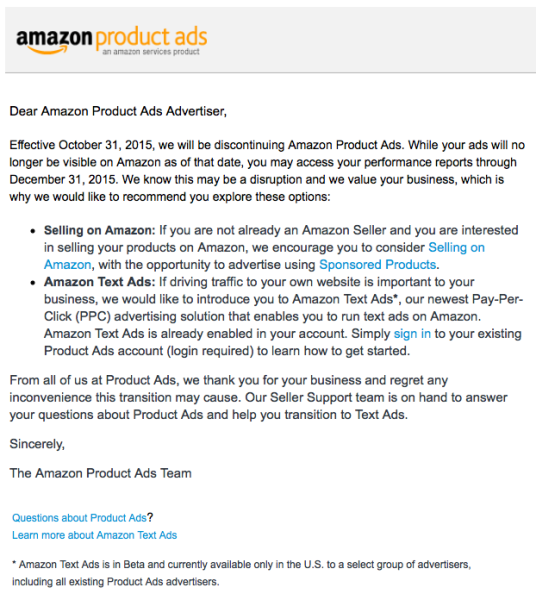 Amazon-Product-Ads-Email