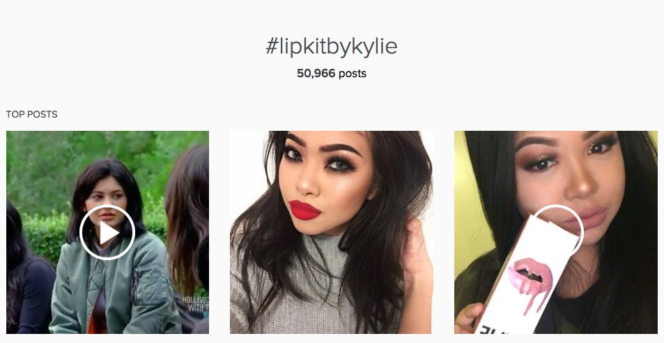 LipKitbyKylie on Instagram